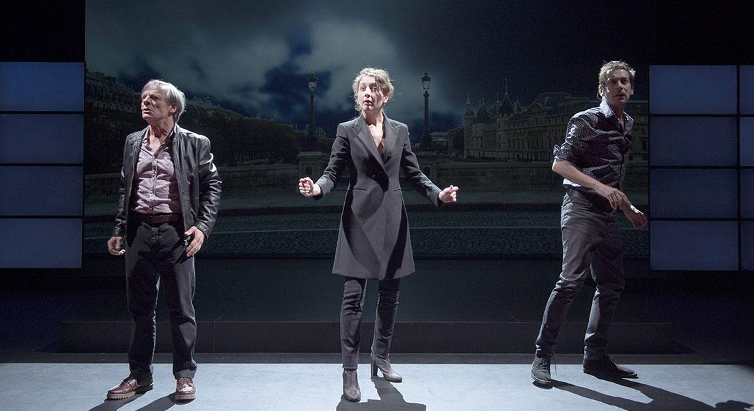 La 7e fonction du langage - Critique sortie Théâtre Sartrouville Théâtre de Sartrouville et des Yvelines - Centre Dramatique National.