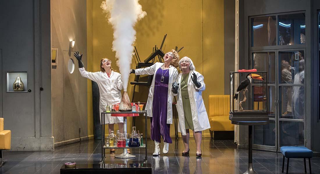 Trissotin ou les Femmes Savantes - Critique sortie Théâtre Paris La Scala Paris