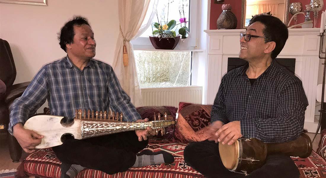 Ustâd Gholâm Hussein et Ustâd Gholâm Nejrawi - Critique sortie Jazz / Musiques Vincennes Sainte-Chapelle du Château de Vincennes