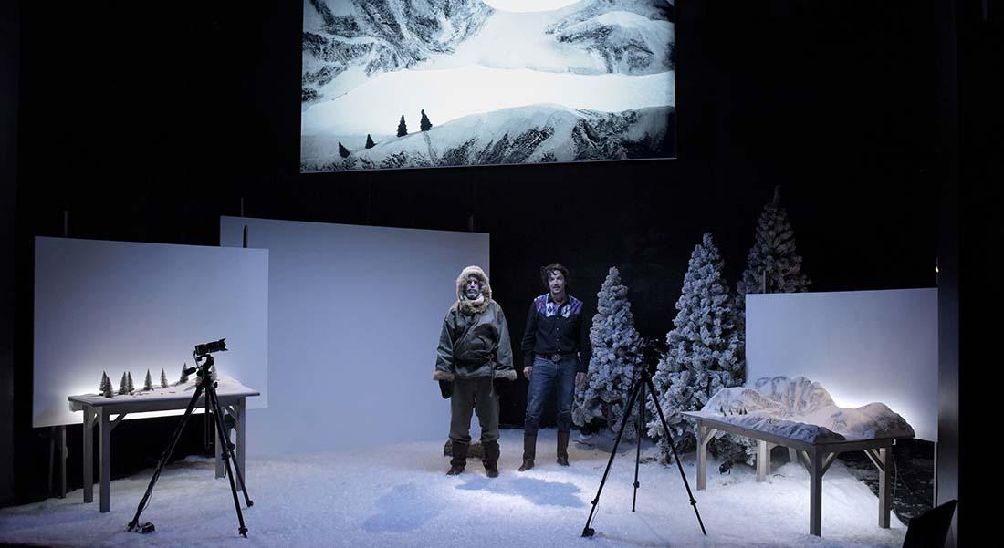 Construire un feu - Critique sortie Théâtre Paris Studio-Théâtre de la Comédie-Française