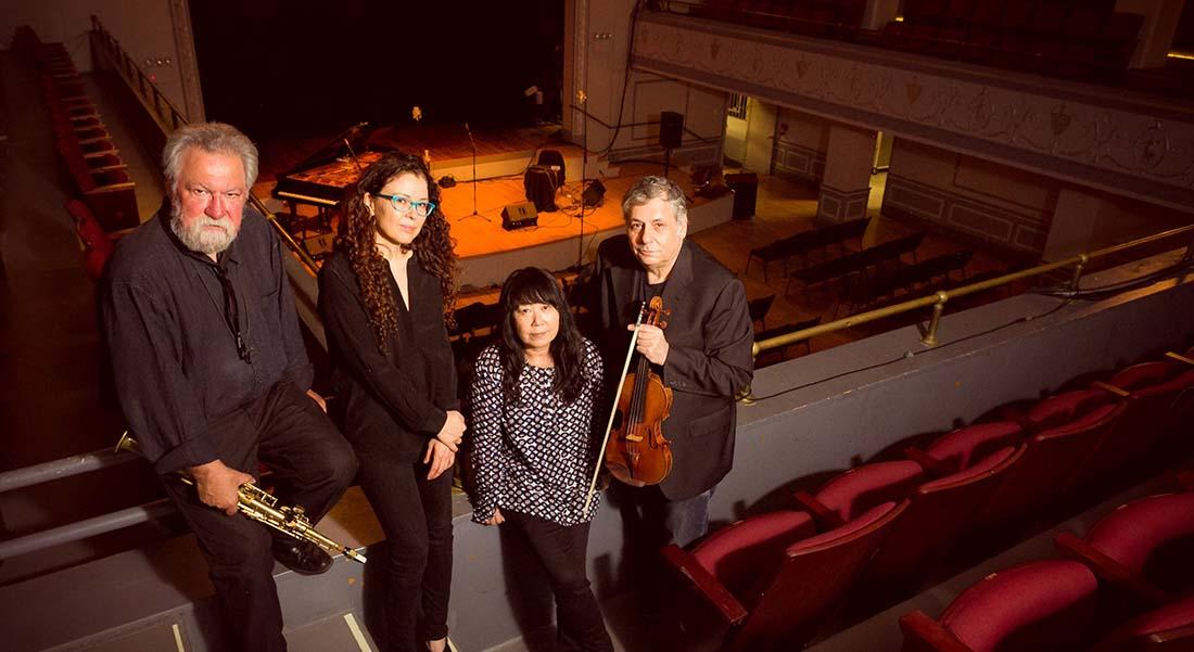 Sylvain Daniel, Sylvie Courvoisier Quartet Miller's - Critique sortie Jazz / Musiques Pantin La Dynamo de Pantin