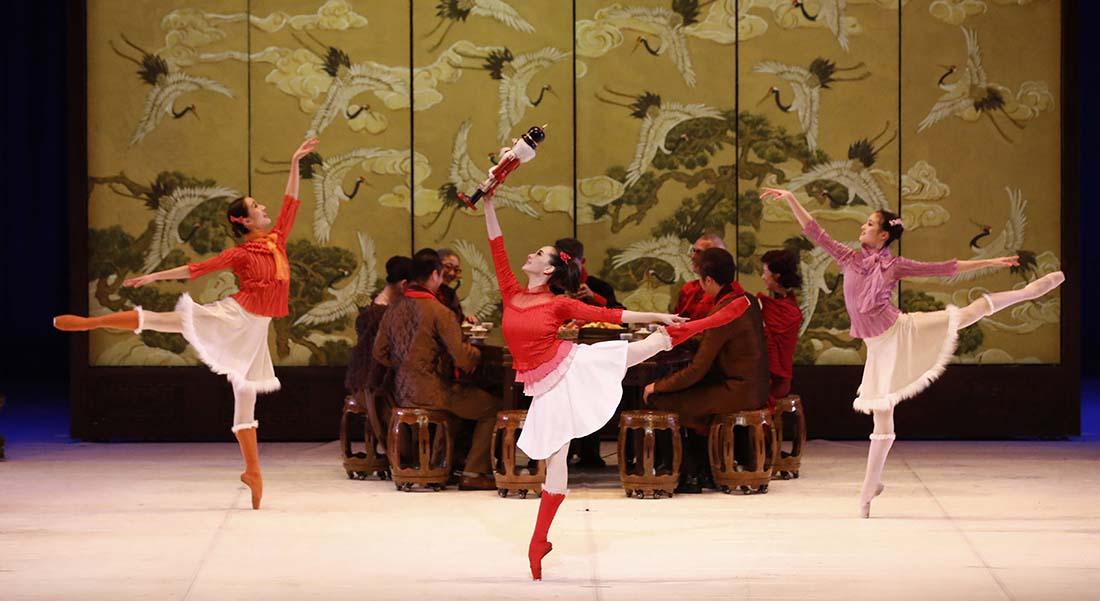 Le Ballet National de Chine revisite Casse-Noisette - Critique sortie Danse Boulogne-Billancourt La Seine Musicale