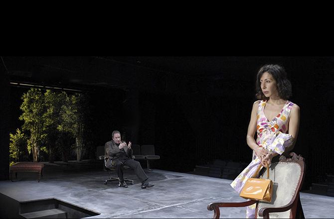 Dans la luge d'Arthur Schopenhauer - Critique sortie Théâtre Angers Le Quai - CDN ANgers Pays de la Loire