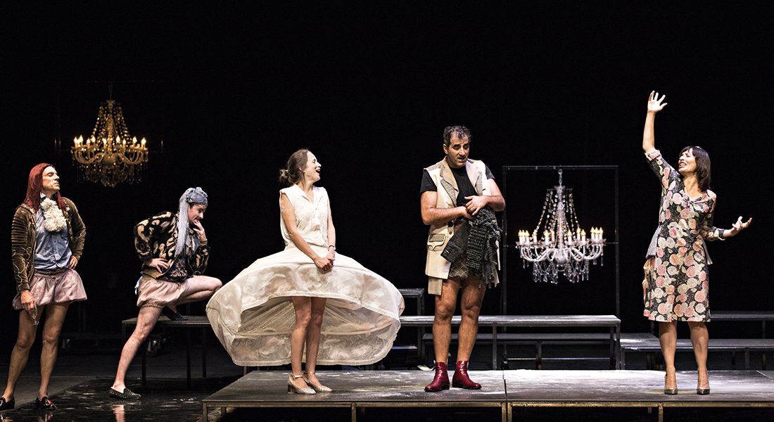 Le Misanthrope - Critique sortie Théâtre Fouesnant L'Archipel – Pôle d'action culturelle de Fouesnant-les Glénan