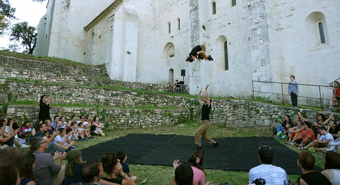 Patrimoine en mouvement - Critique sortie Cirque Aix-en-Provence CIAM-Centre International des Arts en Mouvement