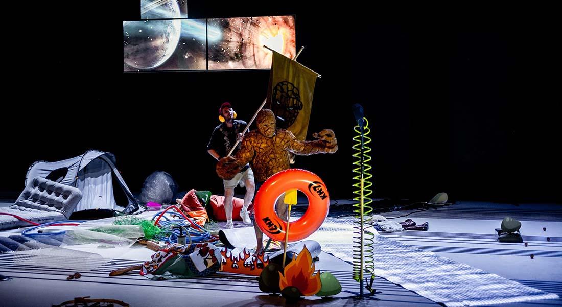 Encyclopédie des phénomènes paranormaux Pippo y Riccardo - Critique sortie Théâtre Annecy Bonlieu - Scène Nationale d'Annecy