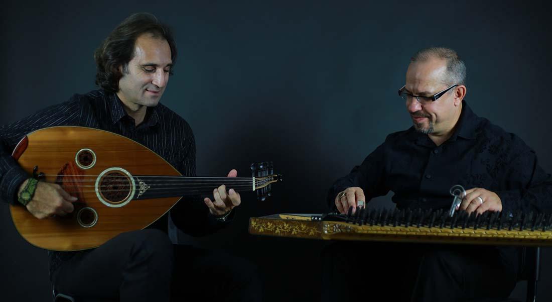 Yurdal Tokcan et Göksel Baktagir - Critique sortie Jazz / Musiques Paris Théâtre de la Ville - Théâtre des Abbesses