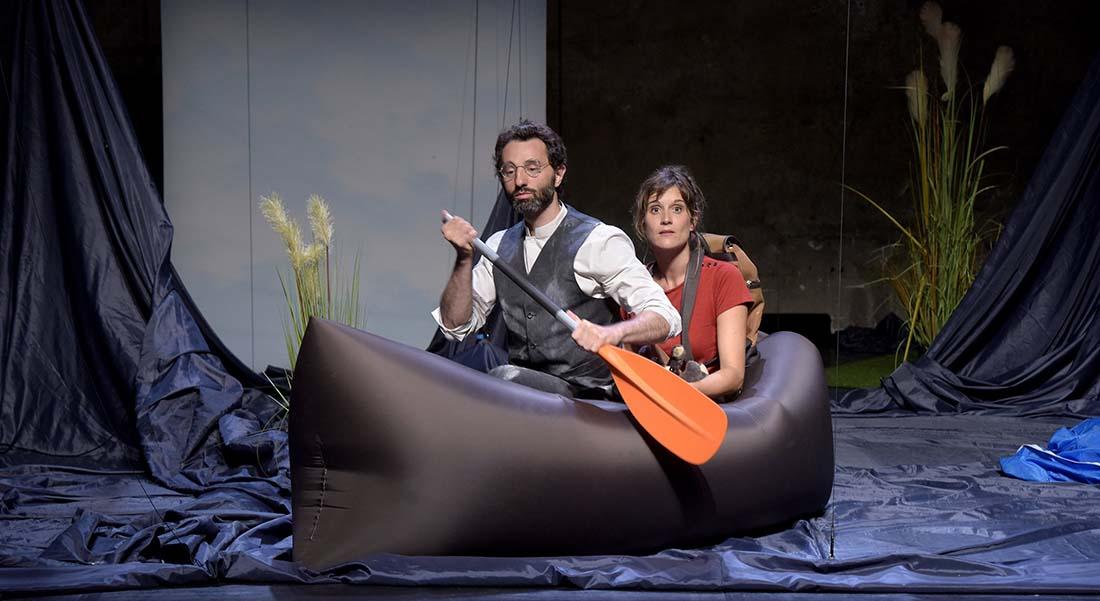 Tristesse et joie dans la vie des girafes - Critique sortie Théâtre Gennevilliers T2G - Théâtre de Gennevilliers
