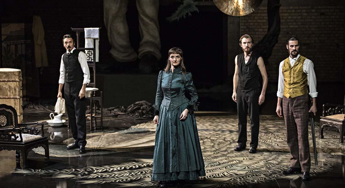 Partage de midi de Paul Claudel mes Eric Vigner - Critique sortie Théâtre Paris Théâtre des Abbesses