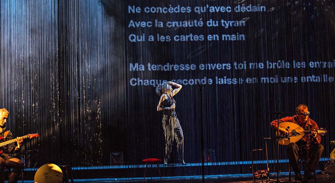 Al atlal, chant pour ma mère : Norah Krief rend hommage à Oum Kalsoum. - Critique sortie Théâtre Malakoff Théâtre 71