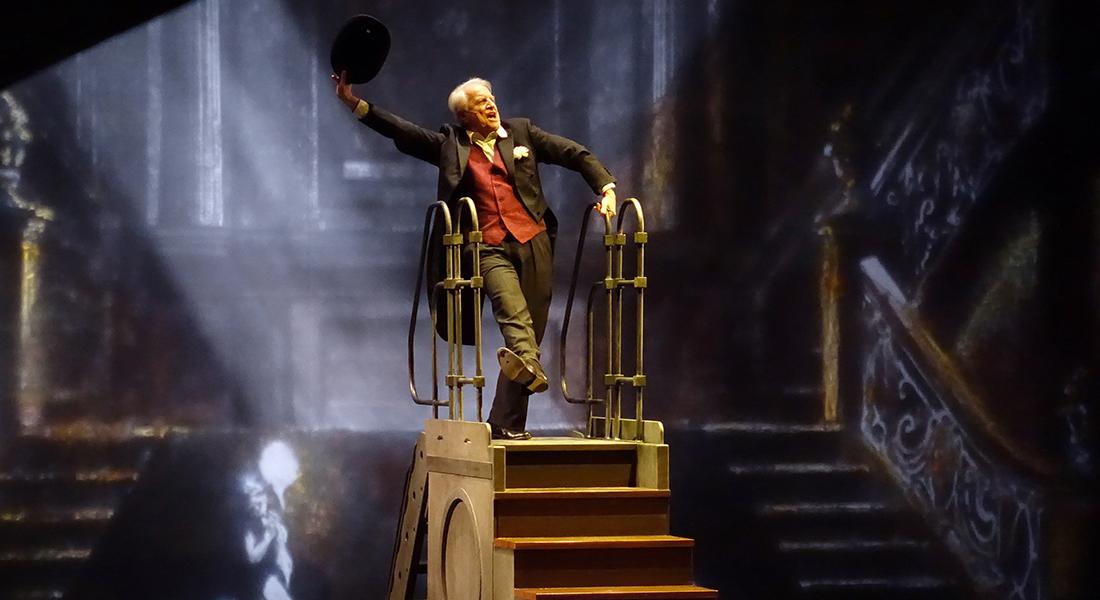 Novecento par André Dussollier - Critique sortie Théâtre Paris Théâtre de la Porte Saint-Martin