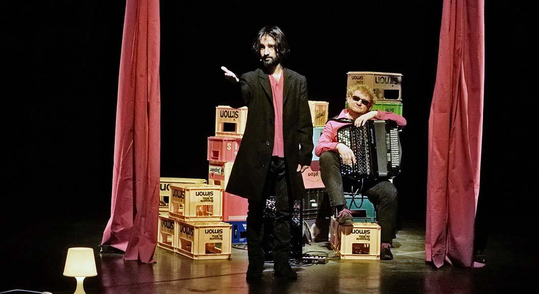 David Murgia à l'honneur, dans des pièces d'Ascanio Celestini - Critique sortie Théâtre Cherbourg-en-Cotentin Le Trident - Scène nationale de Cherbourg-en-Cotentin