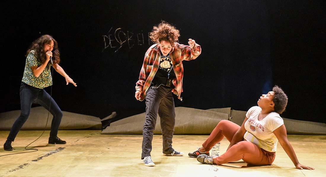Génération(s) #2 à la Nouvelle Scène nationale de Cergy-Pontoise et du Val-d'Oise - Critique sortie Théâtre Pontoise Théâtre de Louvrais