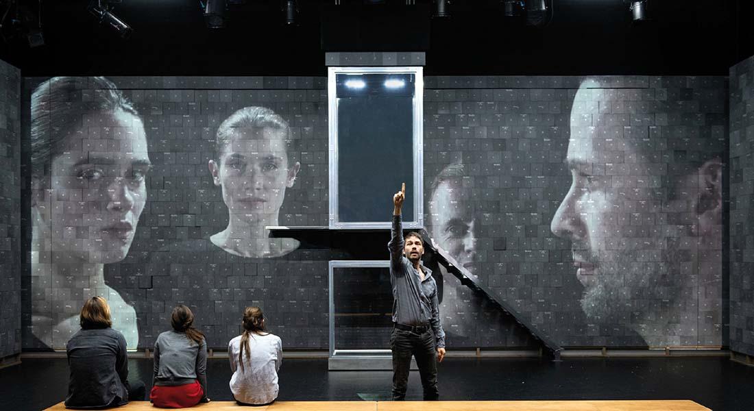 Insoutenables longues étreintes d'Ivan Viripaev mes Galin Stoev - Critique sortie Théâtre Paris Théâtre de la Colline