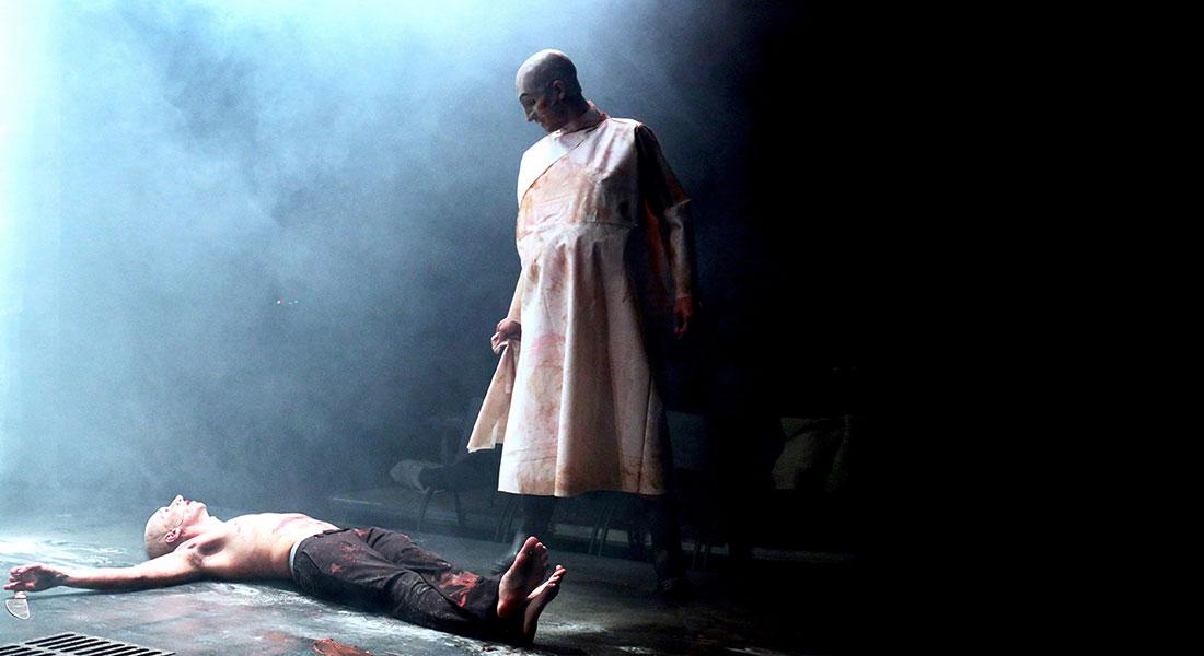 Le Chien, la nuit et le couteau de Marius von Mayenburg  mes Louis Arene - Critique sortie Théâtre Paris Le Monfort