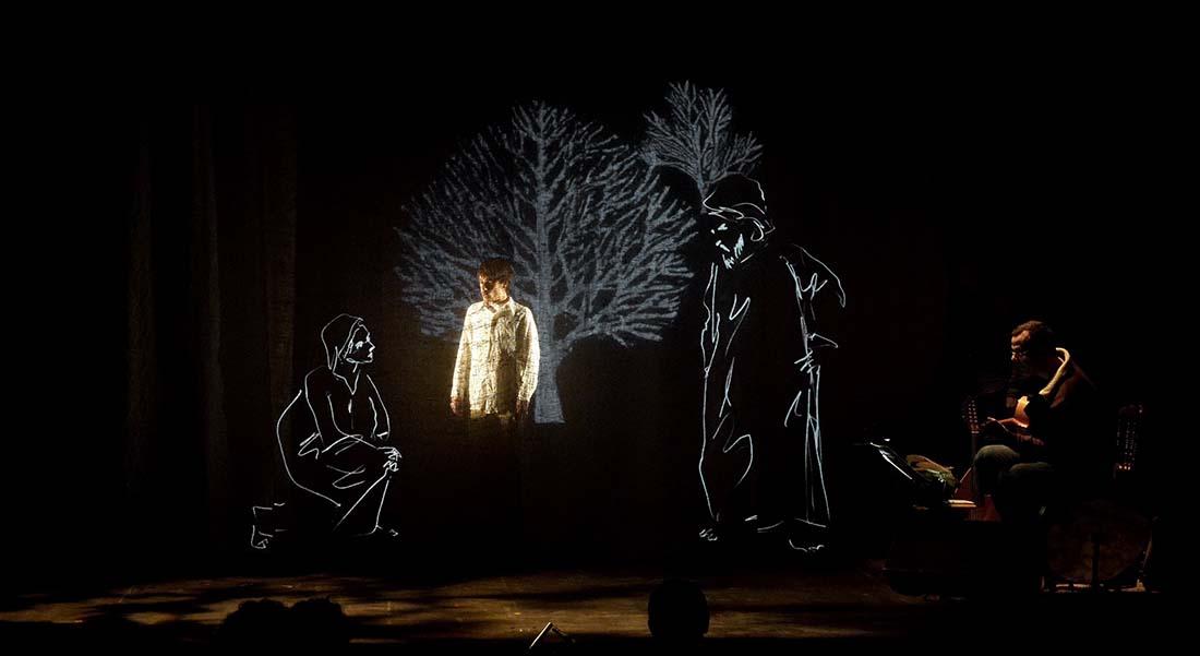 Le pain nu Adapté et mis en scène par Paula Giusti - Critique sortie Théâtre Villejuif Théâtre Romain Rolland