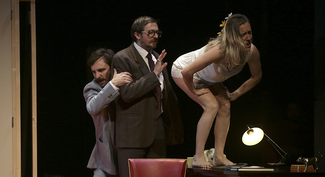 Mais n'te promène donc pas toute nue de Georges Feydeau mes Charly Marty - Critique sortie Théâtre Amiens Comédie de Picardie