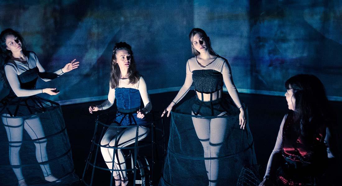Les Ménines / Las Meninas d'Ernesto Anaya mes Sylvie Mongin-Algan - Critique sortie Théâtre Lyon NTH8 - Nouveau Théâtre du 8e