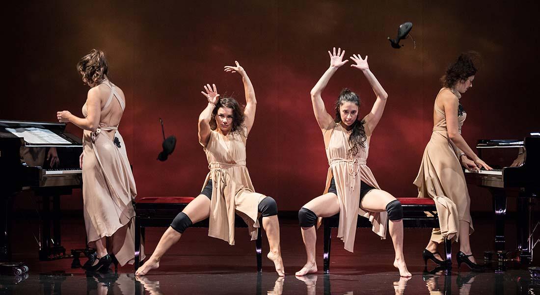 Muses d'Anthony Egéa - Critique sortie Danse Suresnes Théâtre de Suresnes Jean Vilar