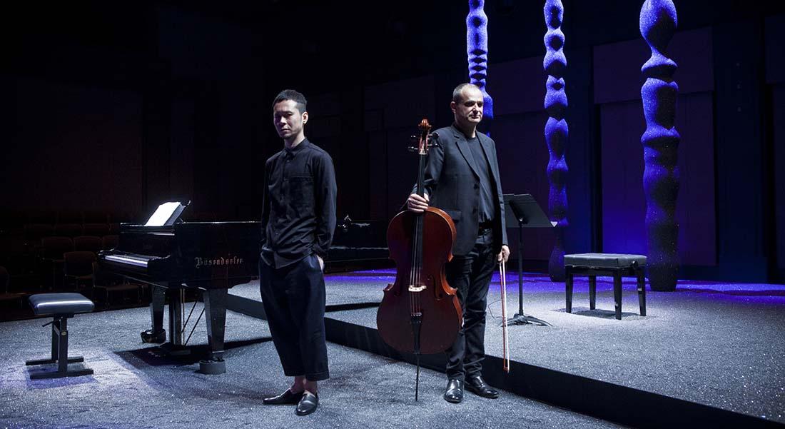 Koki Nakano et Vincent Ségal - Critique sortie Jazz / Musiques Nanterre Maison de la musique de Nanterre