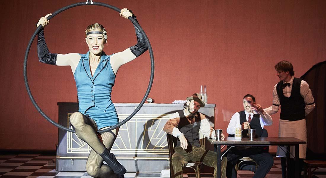 Speakeasy avec les Rat Pack - Critique sortie Cirque Créteil Maison des Arts de Créteil