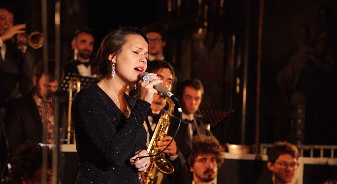 Umlywood Orchestra, un big-band à Hollywood - Critique sortie Jazz / Musiques Montigny-le-Bretonneux Théâtre de Saint-Quentin-en-Yvelines