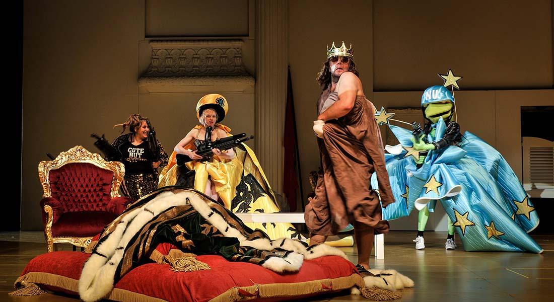 Am Königsweg (Sur la voie royale) d'Elfriede Jelinek par Falk Richter - Critique sortie Théâtre Paris Théâtre de l'Odéon