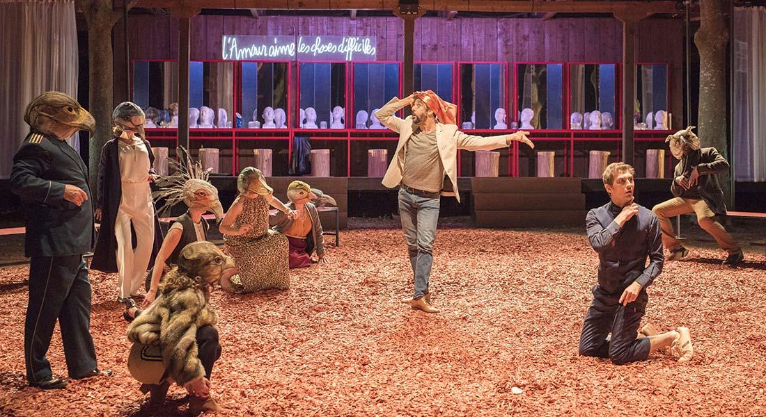 La Conférence des oiseaux de Jean-Claude Carrière, mis en scène par Guy-Pierre Couleau - Critique sortie Théâtre Ivry-sur-Seine Théâtre des Quartiers d'Ivry - Centre Dramatique national du Val-de-Marne - Manufacture des Œillets