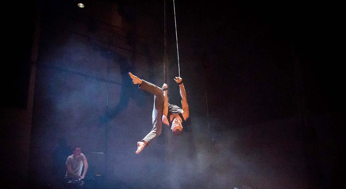 Focus nouveau cirque au CCS avec Mélissa Von Vépy et Stefan Hort, Julian Vogel & Josef Stiller - Critique sortie Théâtre Paris Centre culturel suisse de Paris