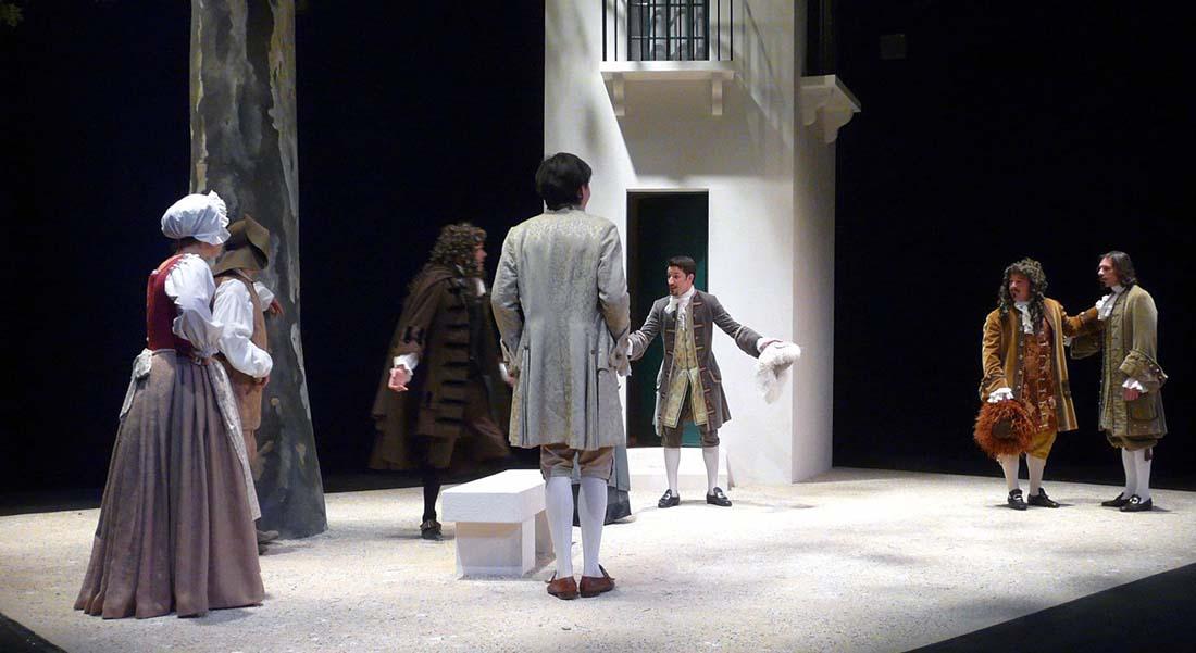 L'Ecole des femmes de Molière par Hubert Jappelle - Critique sortie Théâtre Eragny-sur-Oise Théâtre de l'Usine