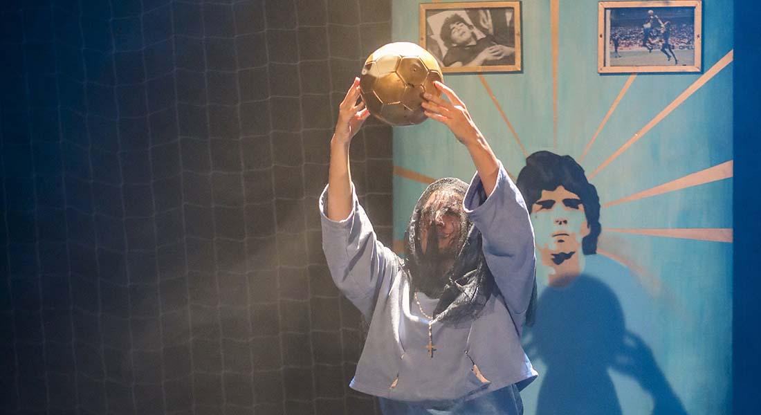 Maradona c'est moi par Etienne Durot - Critique sortie Théâtre Paris Théâtre de Belleville