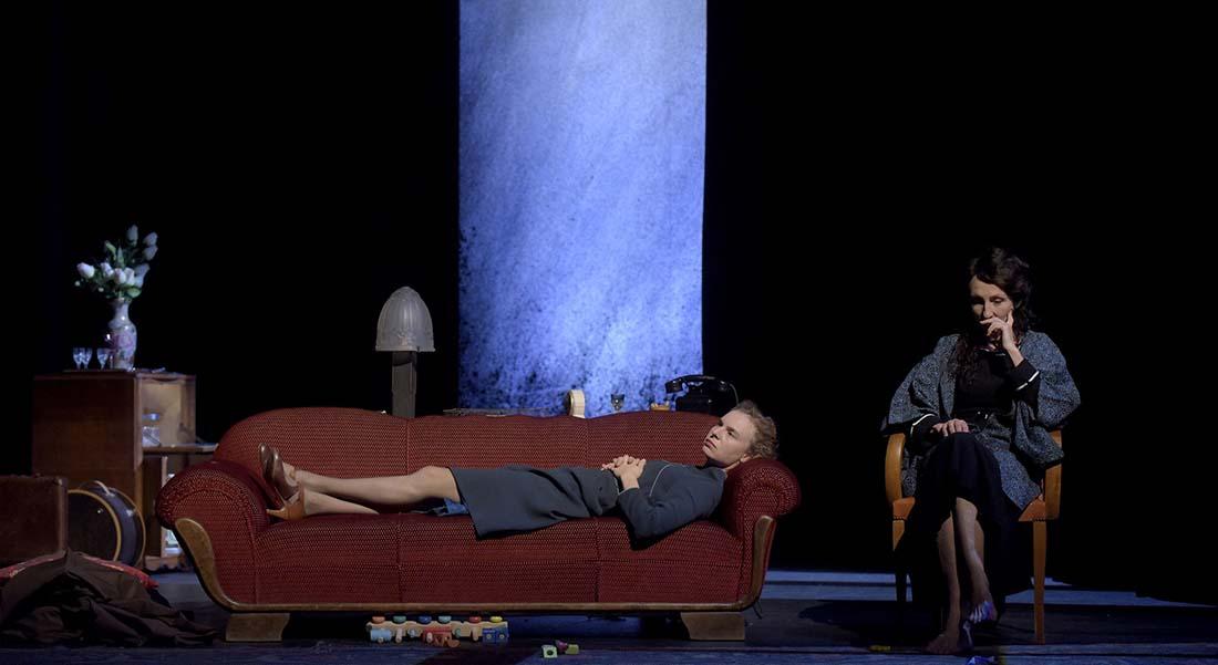 Mme Klein de Nicholas Wright par Brigitte Jaques-Wajeman - Critique sortie Théâtre Paris Théâtre des Abbesses
