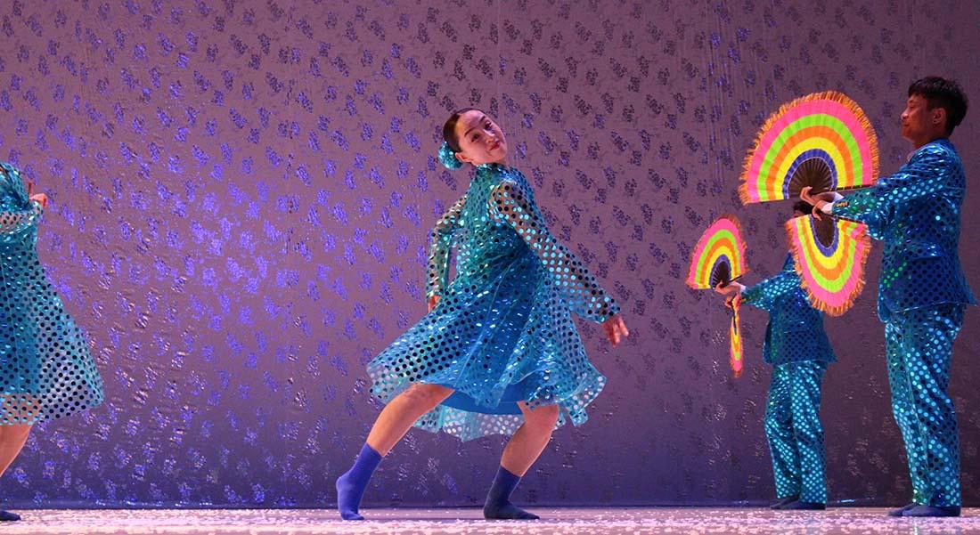 North Korea Dance avec Eun-Me Ahn - Critique sortie Danse Paris Théâtre de la Ville Les Abbesses