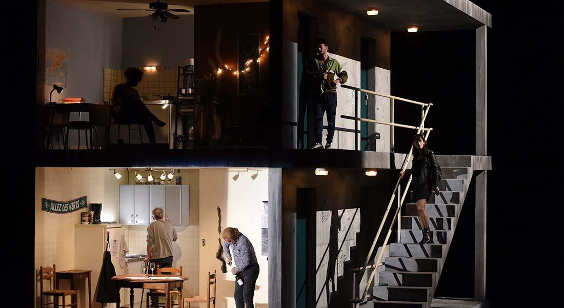 J'ai pris mon père sur mes épaules de Fabrice Melquiot mis en scène par Arnaud Meunier - Critique sortie Théâtre Paris Théâtre du Rond-Point