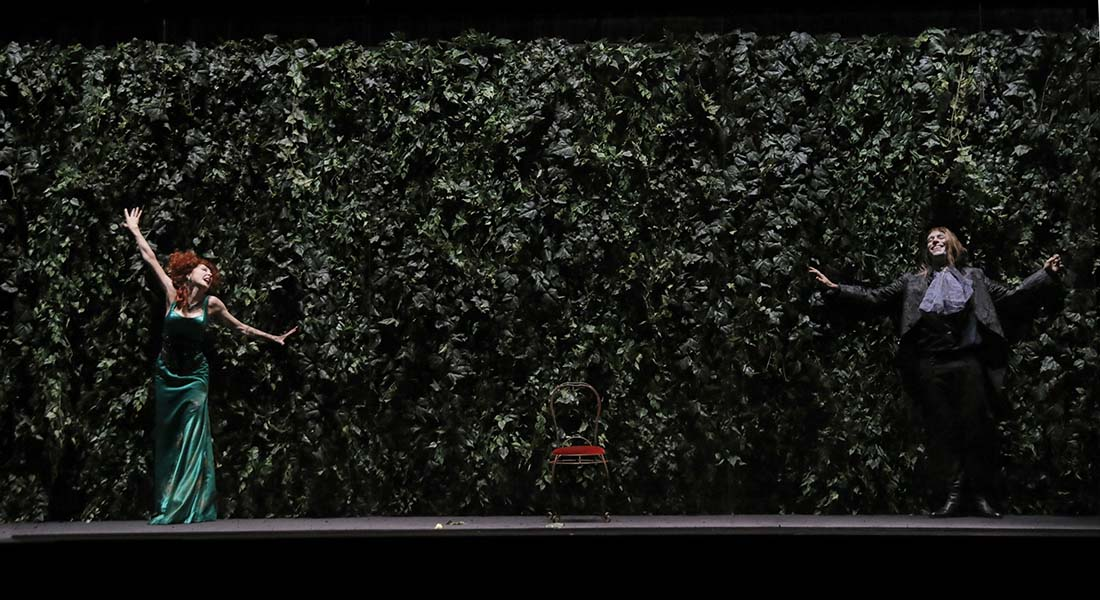 La Double Inconstance de Marivaux, mis en scène par Philippe Calvario - Critique sortie Théâtre Paris Théâtre 14