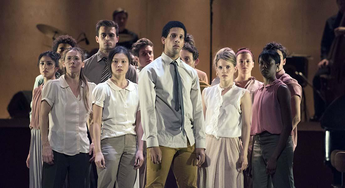 Goat, hommage à Nina Simone avec le Ballet Rambert - Critique sortie Danse Paris Théâtre des Abbesses