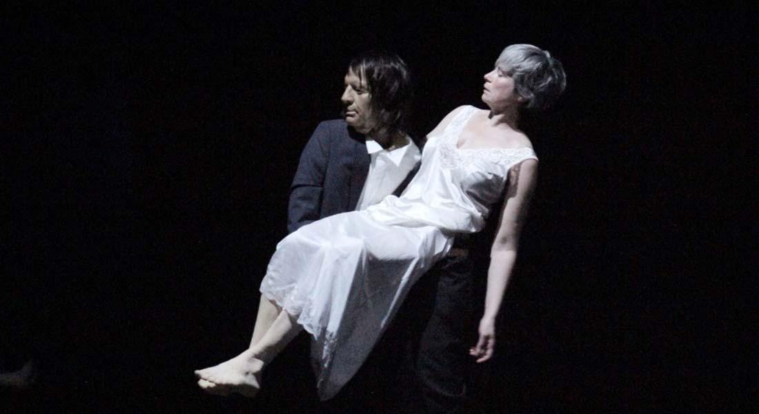 The Great He-Goat de Nicole Mossoux avec Patrick Bonté - Critique sortie Danse Rungis THEATRE DE RUNGIS