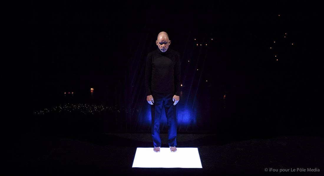 Cap au pire de Samuel Beckett, mis en scène Jacques Osinski - Critique sortie Théâtre Paris Athénée Théâtre Louis-Jouvet