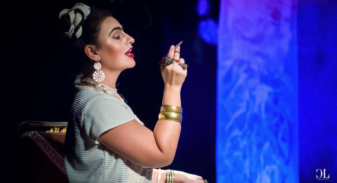 Frida ki allo de Katerina Damvoglou - Critique sortie Théâtre Paris Théâtre Marigny