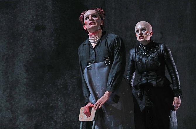 40° sous zéro, texte de Copi, mise en scène de Louis Arene, par le Munstrum Théâtre - Critique sortie Théâtre Mulhouse La Filature