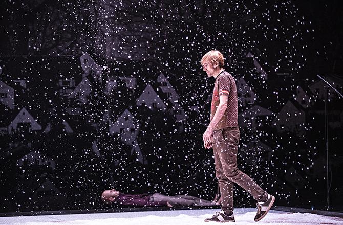 Qui a tué mon père d'Edouard Louis, mis en scène par Stanislas Nordey - Critique sortie Théâtre Paris la colline