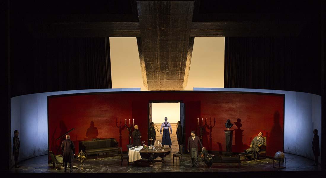 Pierre Audi met en scène Tosca, avec Jonas Kaufmann et Sonya Yoncheva. - Critique sortie Classique / Opéra Paris Opéra Bastille
