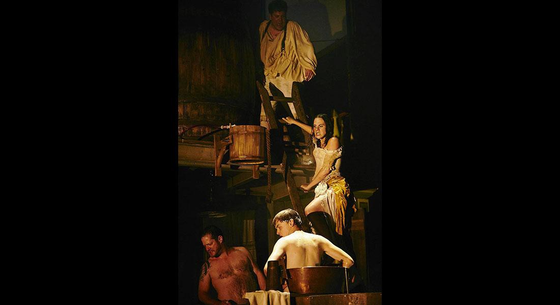 Don Juan de Molière, mis en scène de Frank Castorf - Critique sortie Théâtre Montpellier Domaine d'O