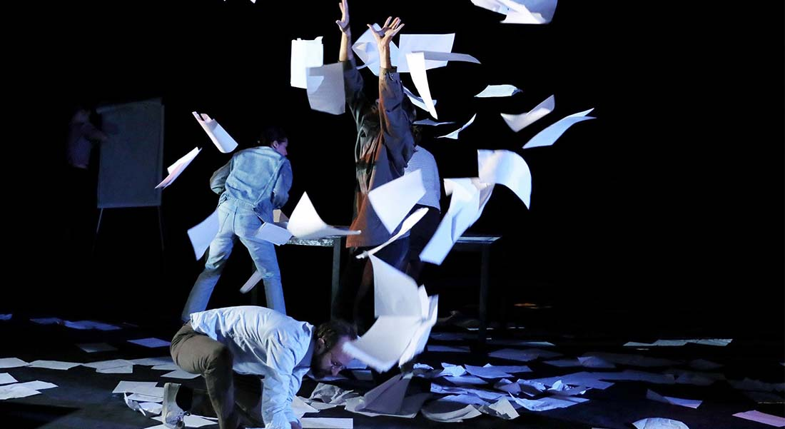 En réalités d' Alice Vannier - Critique sortie Théâtre DIJON Théâtre Dijon Bourgogne - Centre Dramatique National