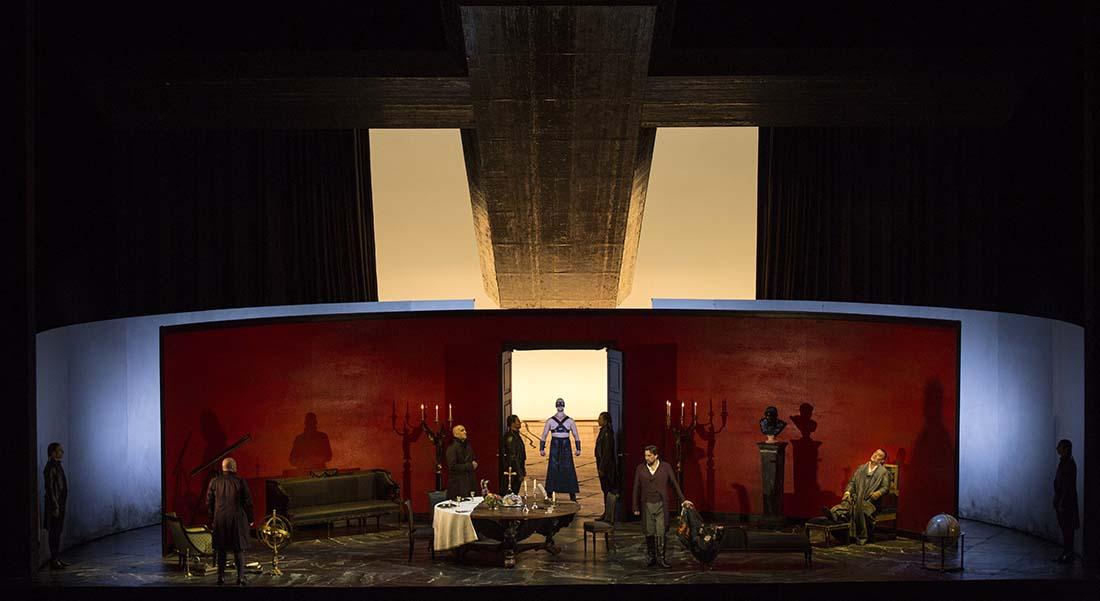 Jonas Kaufmann et Sonya Yoncheva, voix de la Tosca mis en scène par Pierre Audi - Critique sortie Classique / Opéra Paris Opéra Bastille