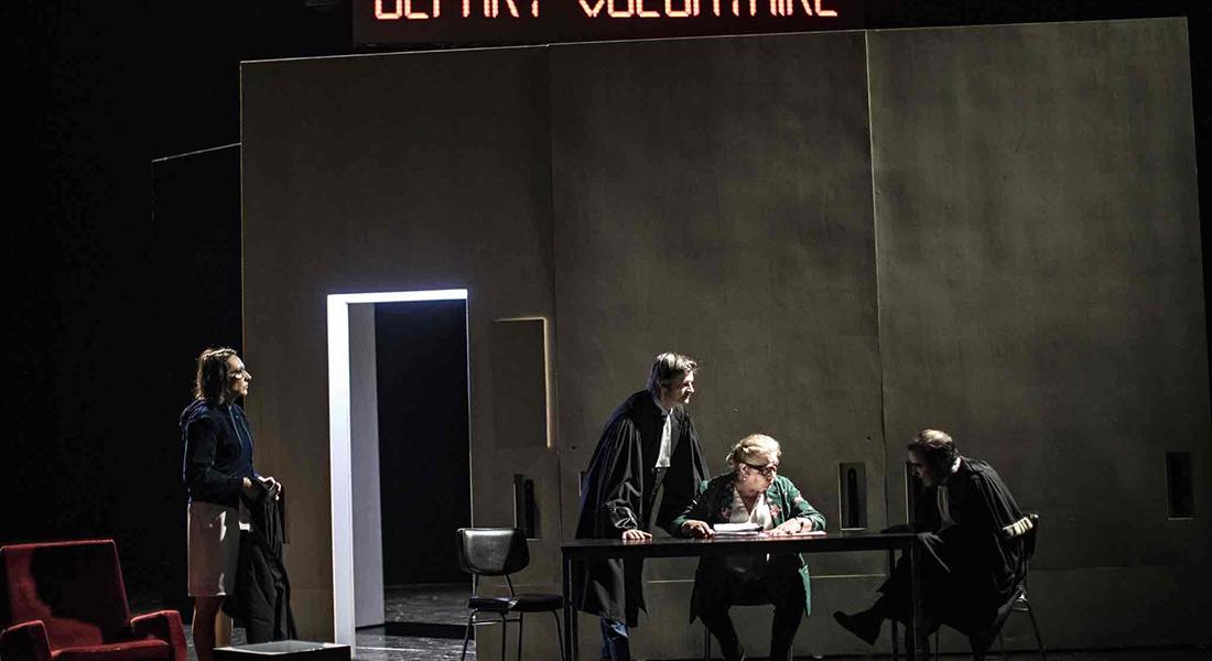 Départ volontaire de Rémi De Vos, mis en scène par Christophe Rauck - Critique sortie Théâtre Lille Théâtre du Nord