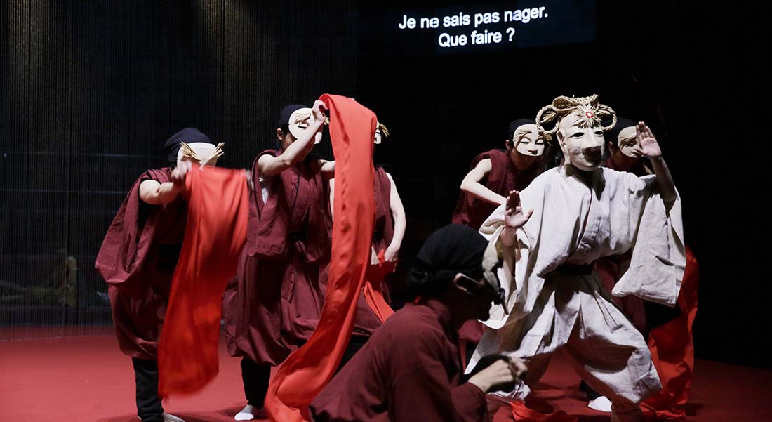 Le Lièvre blanc d'Inaba et des Navajos de Kubota Azumi et la troupe, mis en scène par Miyagi Satoshi - Critique sortie Théâtre Paris Théâtre Claude Lévi-Strauss - Musée du Quai Branly Jacques Chirac