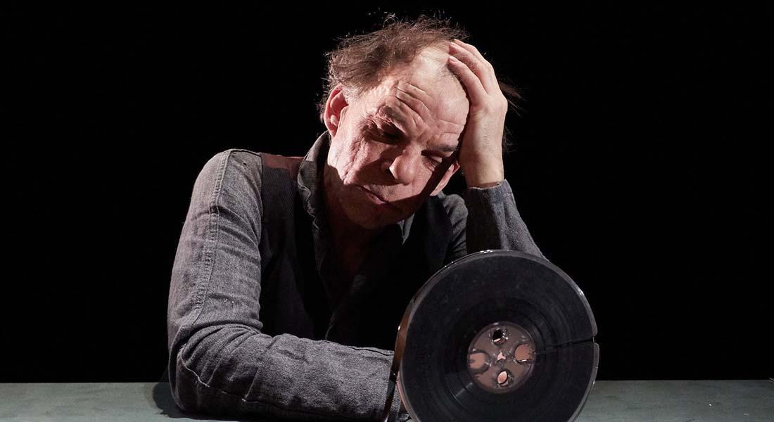 La Dernière Bande de Samuel Beckett, mis en scène de Jacques Osinski - Critique sortie Avignon / 2019 Avignon Avignon Off. Théâtre des Halles