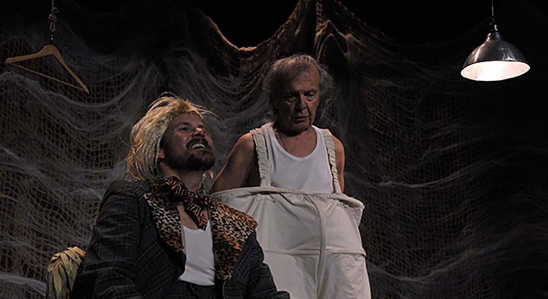 Don Quichotte et Sancho Panza, l'attente de l'amante absente Jean-Claude Humbert d'après Cervantès, mis en scène par Jean-Claude Passerat - Critique sortie Avignon / 2019 Avignon Avignon Off. Le Verbe fou