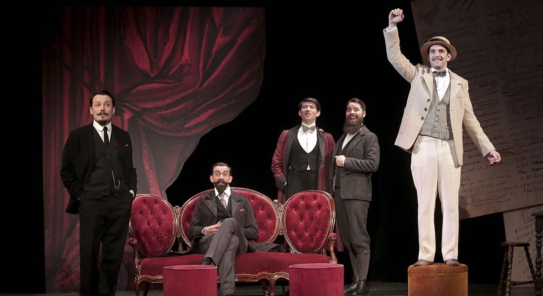 Et si on ne se mentait plus d'Emmanuel Gaury et Mathieu Rannou, mis en scène par Raphaëlle Cambray - Critique sortie Avignon / 2019 Avignon Avignon Off. Théâtre Notre Dame